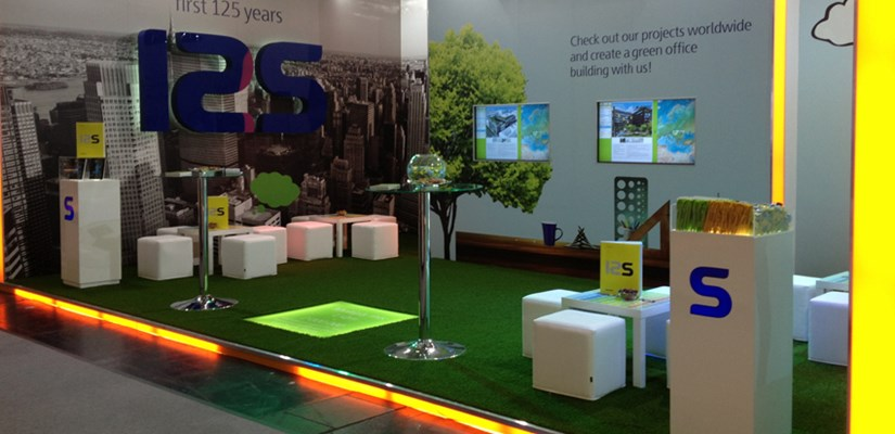 Skanska stand at EXPO REAL