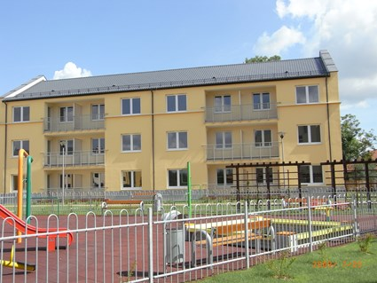 the military residential in Poznan –Strzeszyn