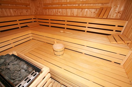 Sauna in sports and recreation complex in Debica