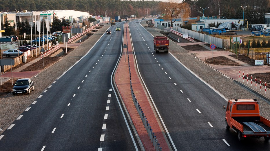 Extention of the provincial road no 307 Poznan - Zakrzewo