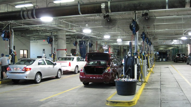 Long-term Parking Garage Rental Car Expansion