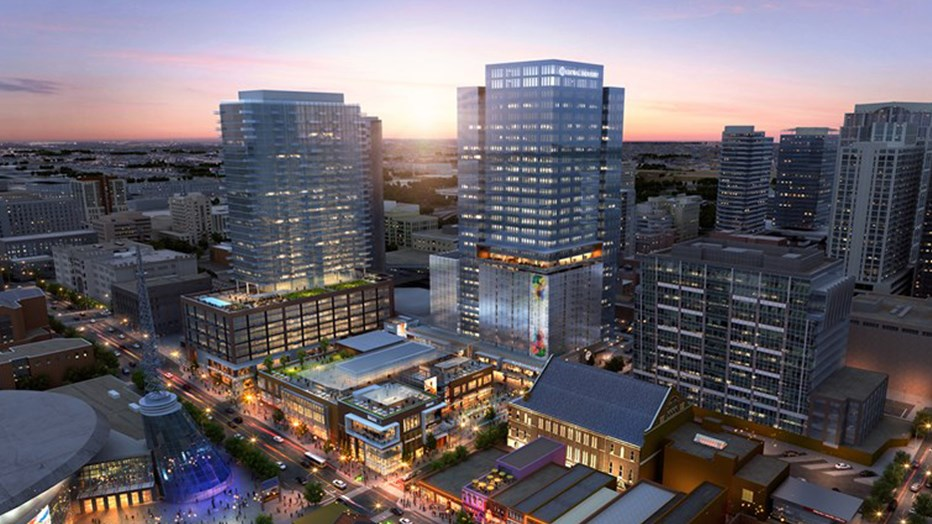 The first project in Nashville to integrate office, retail/entertainment, residential and hospitality on a large scale, Fifth + Broadway maximizes its space and location while capitalizing on the increasing demand for additional live, work and play opportunities downtown.