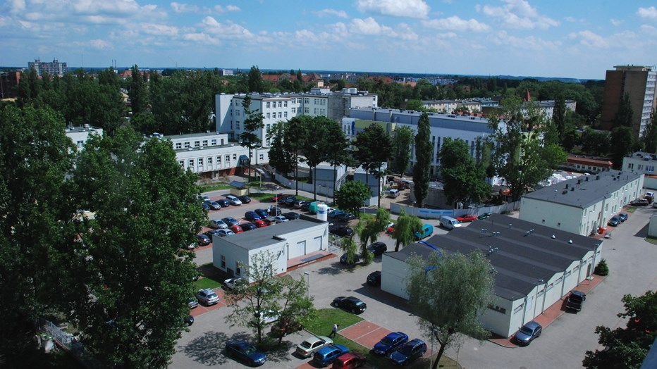 The Municipal Specialst Hospital in Torun